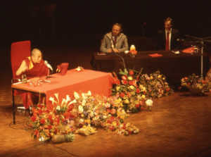 Dalai Lama, Professor Hopkins and Toby Gillies